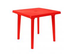 Стол квадратный Красный (18-100012-3)