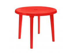 Стол круглый 90 см Красный (18-100011-3)
