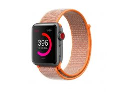Ремешок Fitness для Apple Watch Series 2 Sport Loop 42mm Spicy Orange (123650)