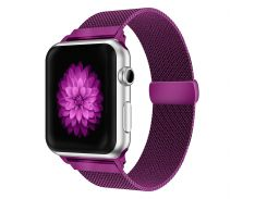 Ремешок Fitness для Apple Watch Series 1 Milanese Loop 42 mm Purple (897421)