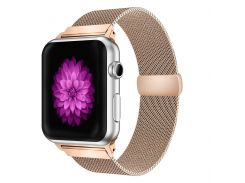 Ремешок New Generation для Apple Watch Series 2 Milanese Loop 42 mm Rose Gold (432115)