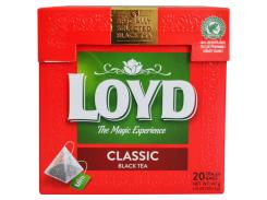 Чай черный пакетированный Loyd Classic Tea 20 x 2 г (26.053)
