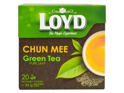 Чай пакетированный Loyd Chun mee 20 x 1.7 г (26.055)