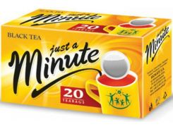 Черный чай в пакетиках Just a Minute Black Tea 20 х 1.4 г (26.064)
