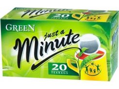 Зеленый чай в пакетиках Just a Minute Black Tea 20 х 1.4 г (26.065)