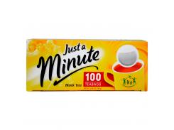 Черный чай в пакетиках Just a Minute Black Tea 100 x 1.4 г (26.063)