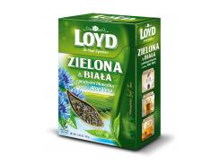 Чай листовой Loyd зеленый и белый с алое вера и лепестками васильков 80 г (26.085)