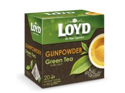 Чай в пакетиках пирамидках Loyd Gunpowder 1.6 г х 20 шт (26.108)