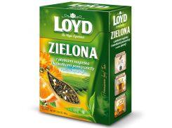 Чай листовой Loyd Zielona с лепестками календулы и опунцией 80 г (26.120)