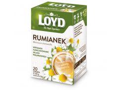 Чай в квадратных пакетиках Loyd Ромашка 1.5 г х 20 шт (26.114)