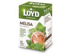 Чай в квадратных пакетиках Loyd Мелиса 2 г х 20 шт (26.113)