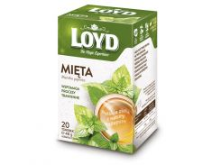 Чай в квадратных пакетиках Loyd Мята 2 г х 20 шт (26.112)