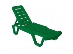 Шезлонг для отдыха Зеленый (18-101070-3)