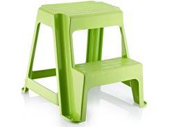 Табурет детский Irak Plastik Лесенка Зеленый (TB-165)