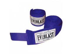 Бинты боксерские (2шт) Эластан + Х-б ELAST VL-0003 (l-3м, красный, синий, черный)