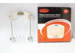 Электронные напольные стеклянные весы Wimpex до 180 кг