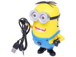 Аудио колонка Миньон microSD / USB + MP3/ Радио