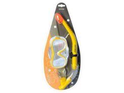 Набор для плавания 55647sh INTEX, трубка, маска, в блистере