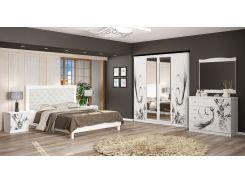 Спальня Ева белый Мебель-сервис