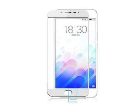 Защитное стекло Meizu MX6 Full 3D Screen white тех.пакет Одесса