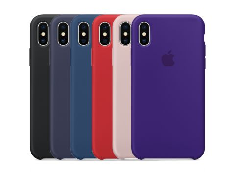 Чехол Apple Silicone Case Apple iPhone X камелия 25 Одесса