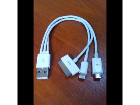 Зарядка кабель usb Apple Iphone 4s/5s/P1000/Micro Одесса