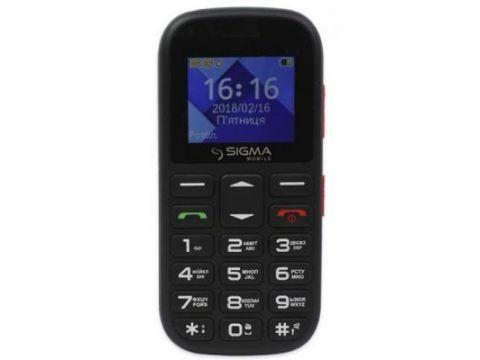 Мобильный телефон Sigma Comfort 50 Mini5 Black Red (4827798337516) Одесса