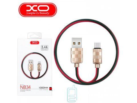 Кабель USB - Type-C XO NB34 1m золотистый Одесса