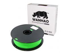 Пластик для 3D печати Wanhao PLA, 1.75 мм, 1 кг, cветло-зелёный