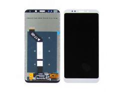 Дисплей для Xiaomi Redmi 5 Plus с белым тачскрином
