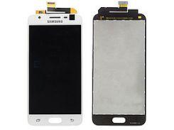 Дисплей для Samsung J510 Galaxy J5 (2016) с белым тачскрином