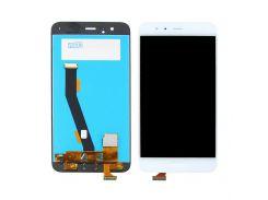 Дисплей для Xiaomi Mi6 с белым тачскрином