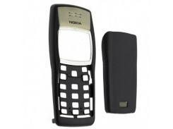 Корпус для Nokia 1100 черный без клавиатуры