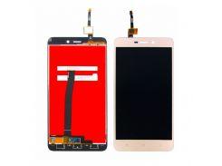 Дисплей для Xiaomi Redmi 4A с золотистым тачскрином