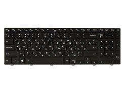 Клавиатура для ноутбука DELL Inspiron 15: 3000, 5000 черный, черный фрейм