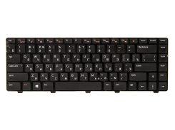 Клавиатура для ноутбука DELL Inspiron N4110 черный, черный фрейм