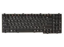 Клавиатура для ноутбука IBM/LENOVO IdeaPad G550, G555 черный, черный фрейм