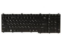 Клавиатура для ноутбука TOSHIBA Satellite C650, L650 черный, черный фрейм