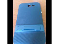 Чехол для Samsung J3 Prime/J320 Ipaky с подставкой синий