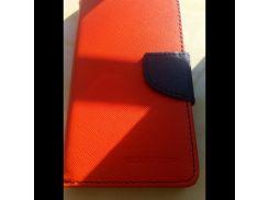 Чехол для Huawei Y5c Книжка Goospery Fancy красная