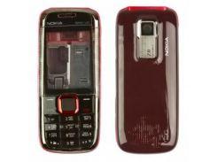 Корпус Nokia 5130 Red high copy (черно-красный)
