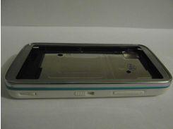 Корпус Nokia 5530 Xpress Music белый с голубым кантом (AAA)
