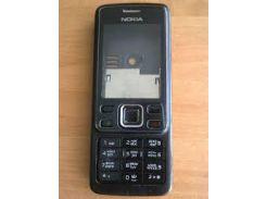 Корпус для Nokia 6300 c клавиатурой черный