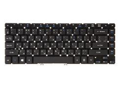 Клавиатура для ноутбука ACER Aspire V5-471 черный, без фрейма