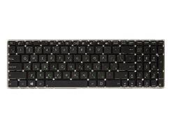Клавиатура для ноутбука ASUS X501, X552, X550 черный, без фрейма