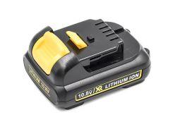 Аккумулятор PowerPlant для шуруповертов и электроинструментов DeWALT 10.8V 2Ah Li-ion