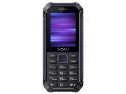 Мобильный телефон Nomi i245 X-Treme Black-Blue / Black