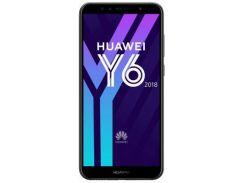 мобильный телефон huawei y6 2018 black (51092jhq)