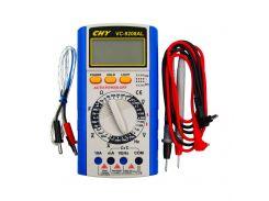 Мультиметр цифровой VC-9208AL с термопарой