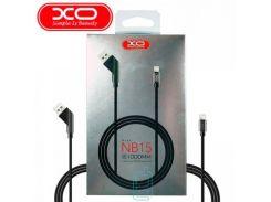 USB кабель XO NB15 micro USB 1m черный